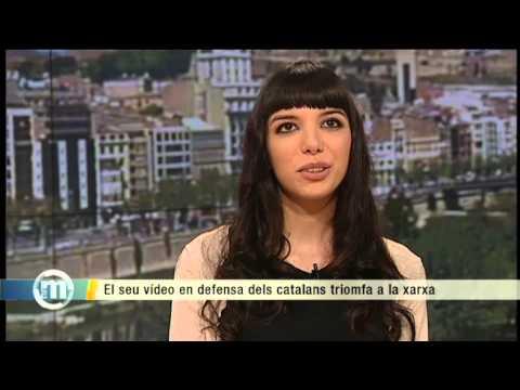 TV3 - Els matins - Mel Domínguez, la bloguera que ha revolucionat la xarxa amb un vídeo contra la