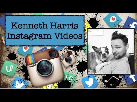 Kenneth Harris Instagram Videos