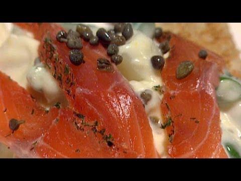 Cured Salmon Gravlax Recipe