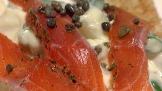 Cured Salmon Gravlax Recipe