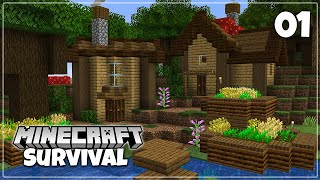 An Epic New Minecraft Adventure - 1.16 Survival Let's Play | Episode 1