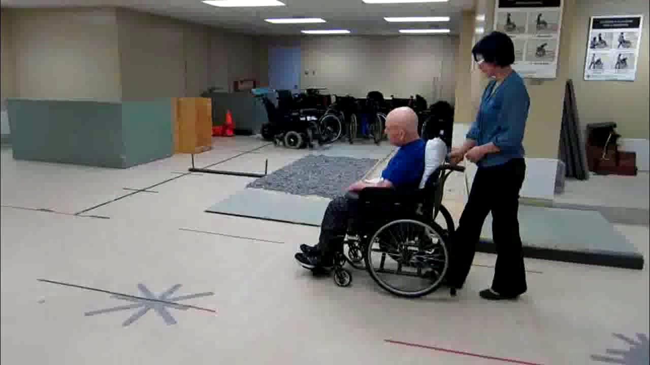Wheelchair Propulsion Test Hemiplegic Propulsion Pattern Youtube