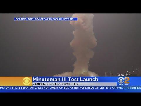 美国空军:成功试射无武装义勇兵三型飞弹(图/视频)
