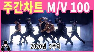 [주간차트 2020년 5주차] 금주의 KPOP 아이돌 뮤직비디오 순위 100 - 2020년 2월 2일 | 와…