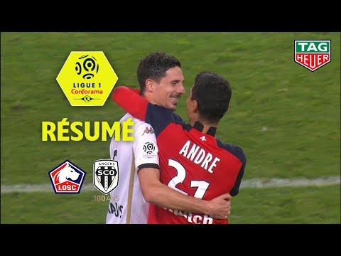 LOSC - Angers SCO ( 2-1 ) - Résumé - (LOSC - SCO) / 2019-20