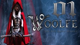 Woolfe - The Red Hood Diaries Gameplay Part 01 - Walkthrough Lets Play Playthrough (PC) [HD, 1080P]