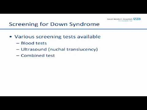 The Screening Tests Available To You During Your Pregnancy