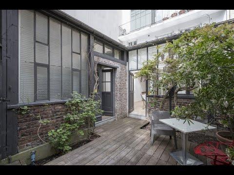 Maison avec jardin dans le 20ème à Paris - Espaces Atypiques