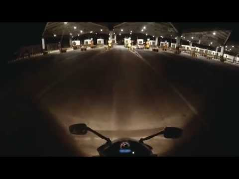 BIAL(Bangalore International Airport) to Hebbal on CBR 250R shot by GoPRo
