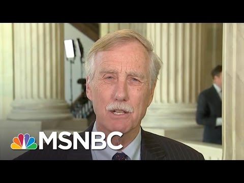 Sen. Angus King: Very Serious To Charge Jeff Sessions With Perjury | Andrea Mitchell | MSNBC