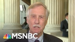 Sen. Angus King: Very Serious To Charge Jeff Sessions With Perjury | Andrea Mitchell | MSNBC Free HD Video