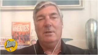 Bill Laimbeer doesn't regret not shaking hands with the Bulls after the '91 ECF | The Jump
