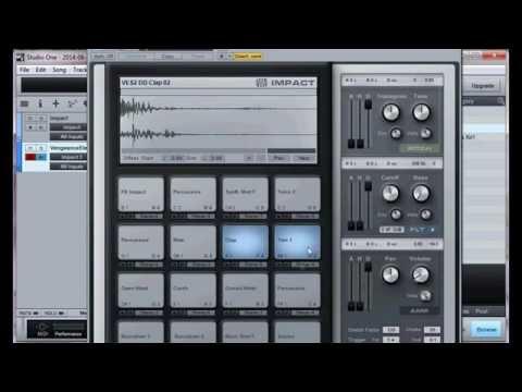 Studio One how to make a beat instrumental [PreSonus]