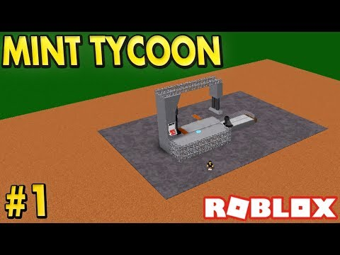 MAKING MONEY in Mint Tycoon - #1 (Roblox)