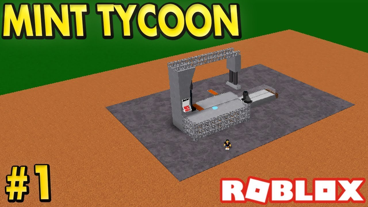 Making Money In Mint Tycoon 1 Roblox Youtube