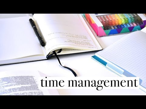 Back to School #15 // Time Management for College - Eisenhower Matrix + Balancing Life