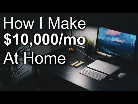 BEST Work-at-Home Job That Pays $10,000 Per Month