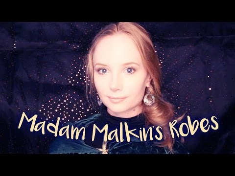 ASMR ✨ Madam Malkin's Robes for All Occasions ✨ Soft Spoken Harry Potter Role Play, Fabric Sounds
