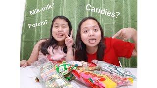 TRYING FILIPINO CHILDHOOD CANDIES (90's Candies)   Mary Myra Bunag