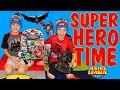 Twins Early Birthday Justice League Surprise!