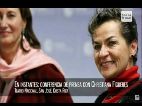 Transmisión especial anuncio candidatura de Christiana Figueres a la secretaría de la ONU