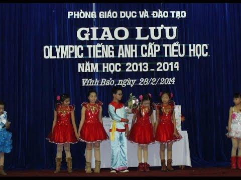 Giao Lưu Olympic tiếng anh cấp tiểu học năm học 2013-2014