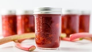 How To Can Rhubarb Jam