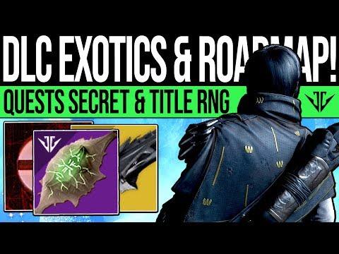 Destiny 2 | FUTURE EXOTICS & DLC CONCERNS! Teaser Clip, Quest Secret, Title RNG, D3 Dev & Downtime! thumbnail