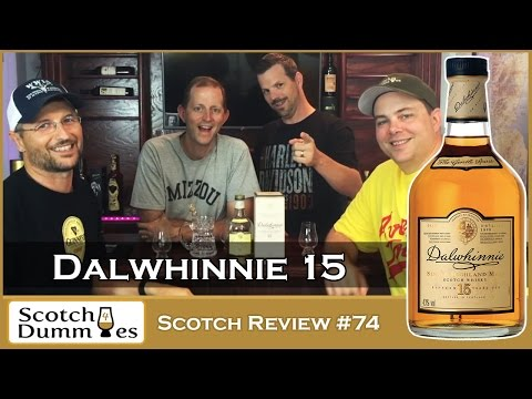 Dalwhinnie 15 Year Old Single Malt Highland Whisky Review #74