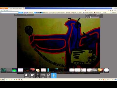 Bilder online bearbeiten mit pixlr videotutorial