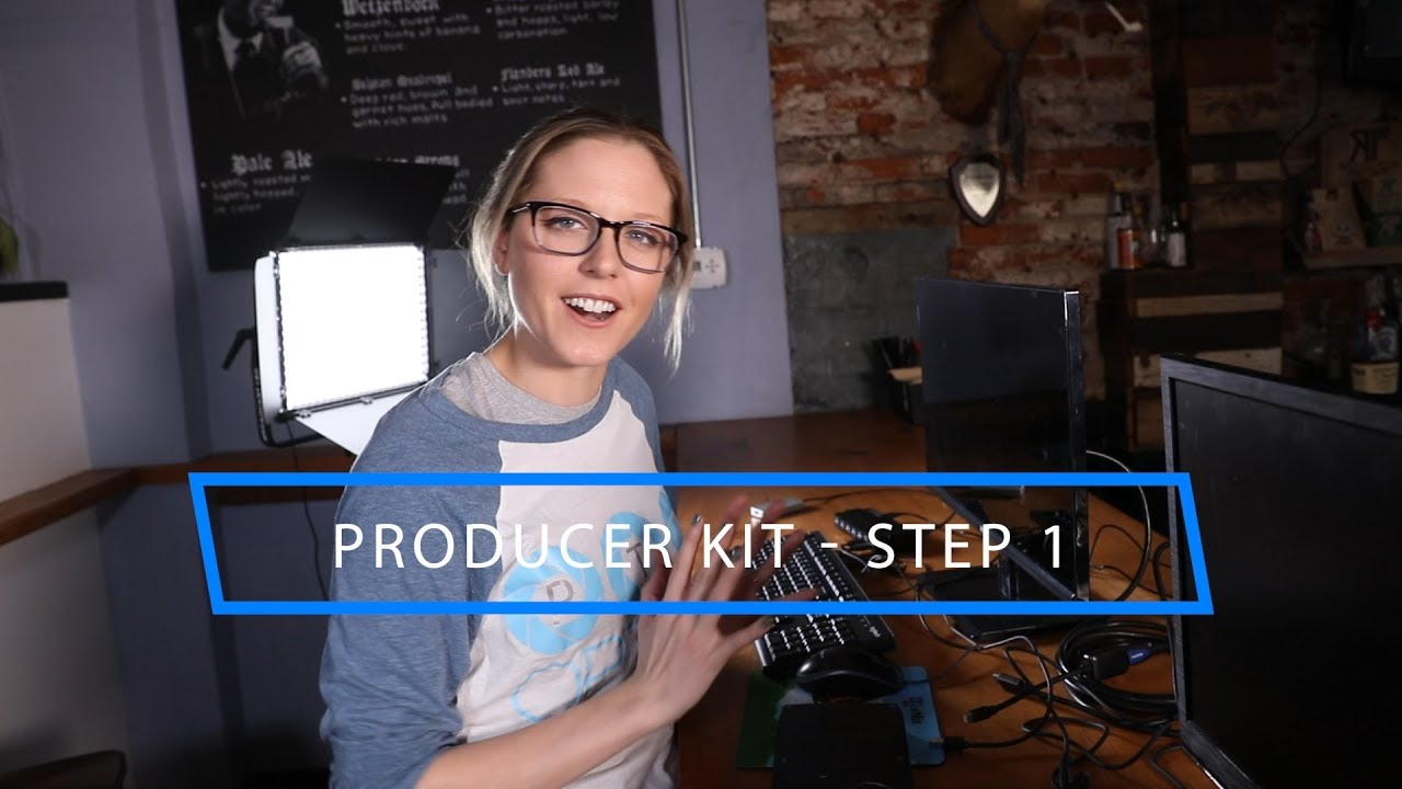 PTZOptics - Producer Kit Set Up - Simple Live Streaming System