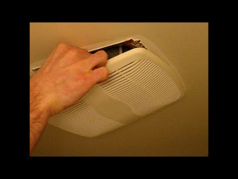 Bathroom Vent Fan Remove Cover And Clean Dust YouTube - Cleaning bathroom vent fan