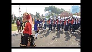 DRUMBAND MTS NEGERI TUBAN-Start Drumband Sumpah Pemuda 2017