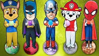 슈퍼히어로 험티덤티 우주 영어 인기 동요 Superheroes Humpty Dumpty Nursery Rhymes kids songs | 말이야와아이들 MariAndKids