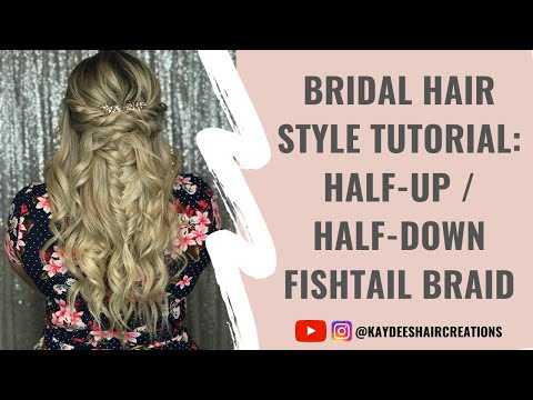 Half-up with Fishtail Braid Video Demo!