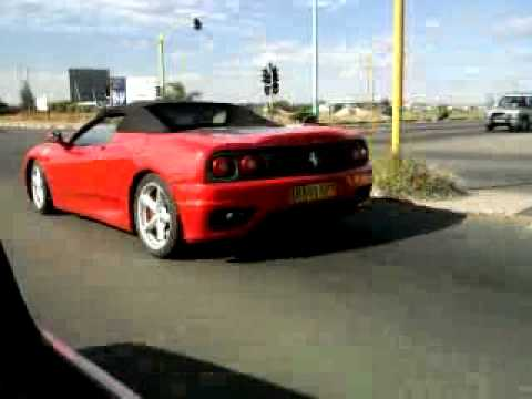 Ferrari @ Airport Traffic Lights, Gaborone Botswana