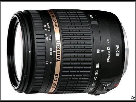 Tamron 18-270mm DSLR Lens Review ( F/3.5-6.3 Di-II VC PZD )