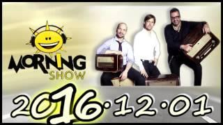 Morning Show Online! Emlékezetes reggelek 2016 12 01 [teljes] A cápák közti MERÜLÉS Élőben