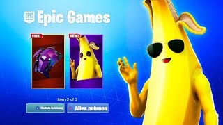 Get 4 NEW FREE Items in Fortnite! (that's how it goes)