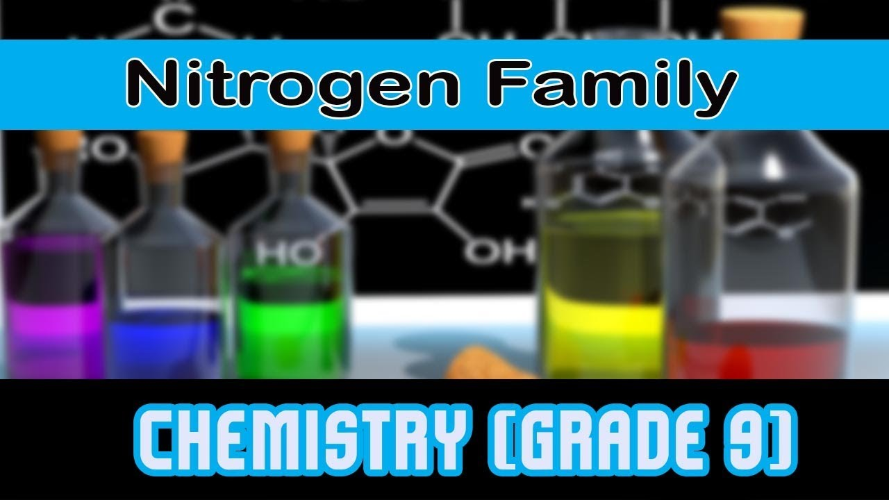 Types Of Element Nitrogen Family 15th Group Of Modern Periodic