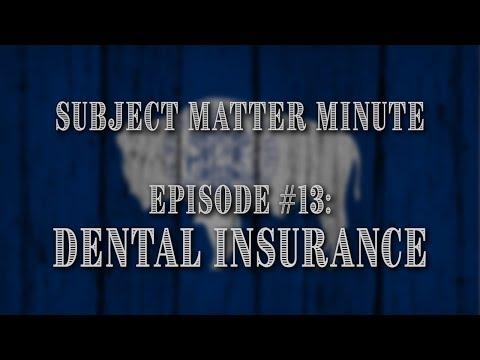 subject-matter-minute,-episode-#13---dental-insurance