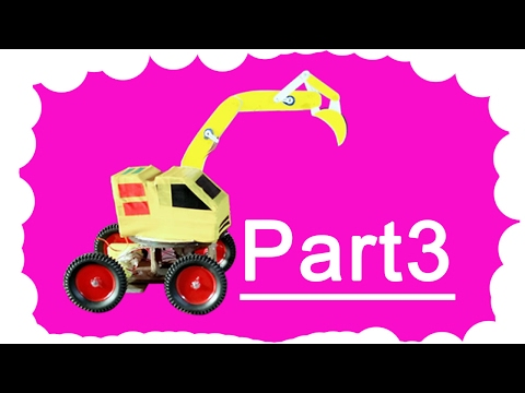 How To Make Fully Control Excavator Rc Part 3