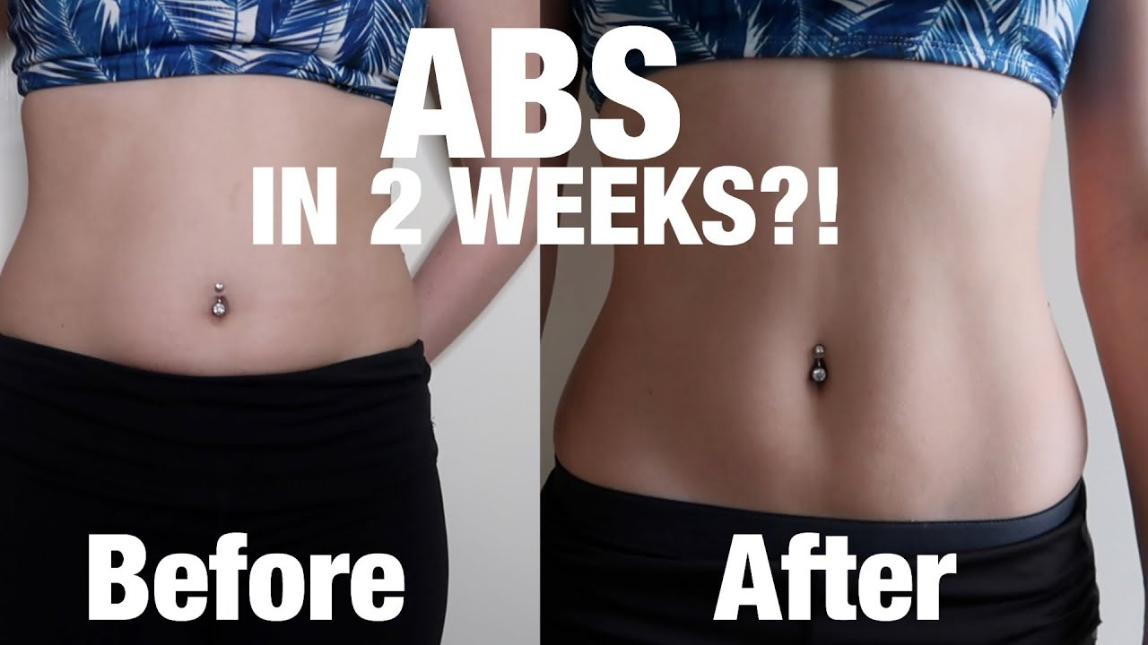 Get Abs in 2 WEEKS? I tried Chloe Ting Abs Workout ...