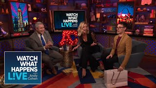 Andy Cohen Drops Karlie Kloss's Homemade Cake!   WWHL