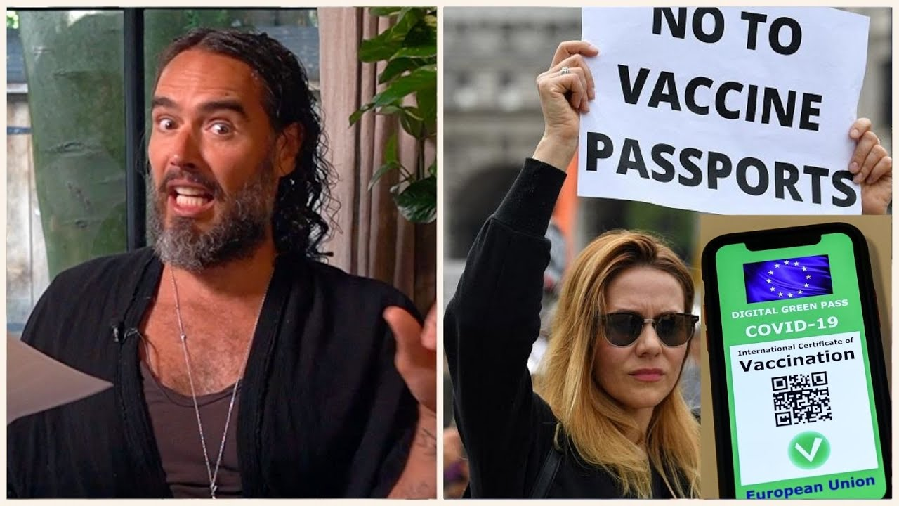 Vaccine Passport Protests IGNORED By Mainstream Media - WHY?!!