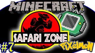 Pokemons do Safari e o Item Finder - Minecraft - Cidade Pokemon #7