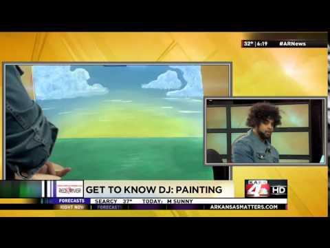 Get to Know DJ Williams Hidden Talent   Painting