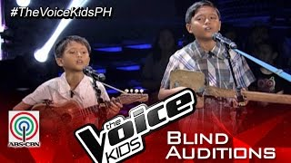 "The Voice Kids Philippines 2015 Blind Audition: ""Just Give Me A Reason (Visayan)"" by Emman & Sandy"