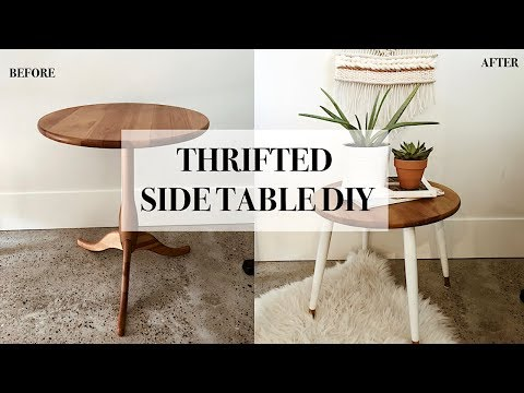 Thrifted Side Table DIY