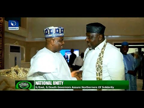 Northern Governors Visit South Eastern States To Show Solidarity